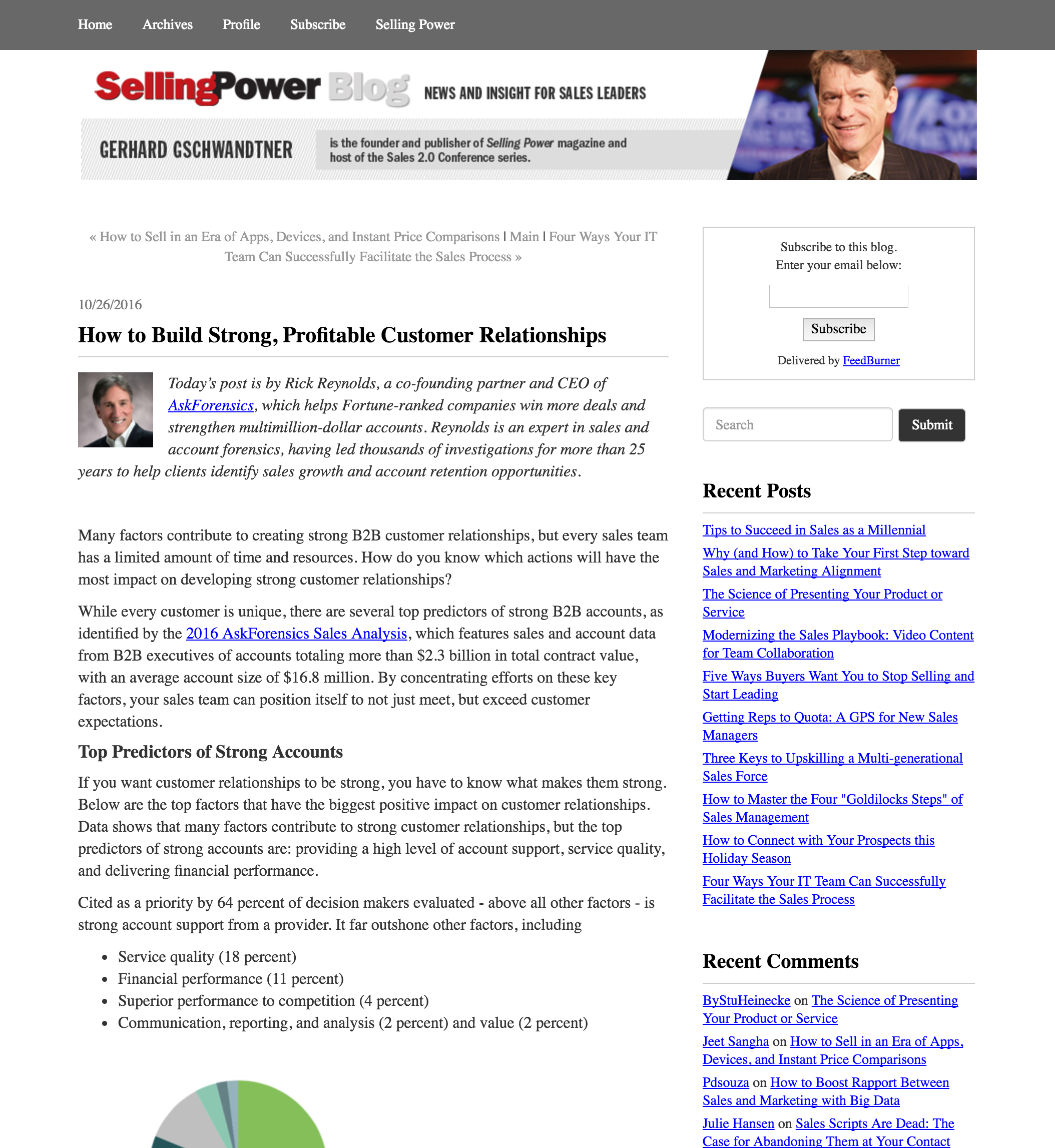 SellingPower | October 2016